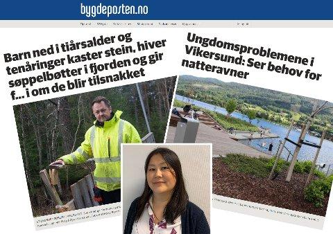 AVVENTER SITUASJONEN: Foreløpig er det ikke satt i gang en mobilisering for å få på plass en natteravn-ordning i Vikersund. Leder i FAU Lise Mørkeng sier de avventer situasjonen, men følger med for å se om behovet på ny melder seg.