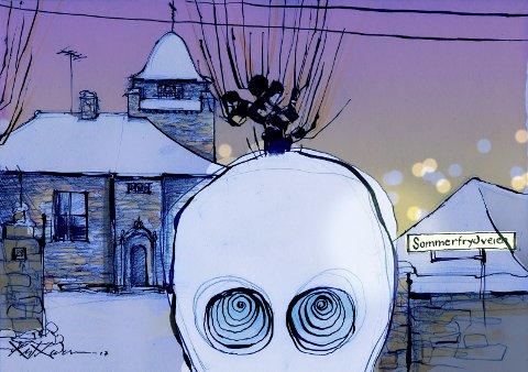 STOR BEGIVENHET: «Til tross for blandet mottakelse blant kritikerne mener jeg at filmatiseringen av «Snømannen», med premieredato fredag 13. oktober, er en av de største begivenhetene som skjer i norsk kulturliv dette året.»