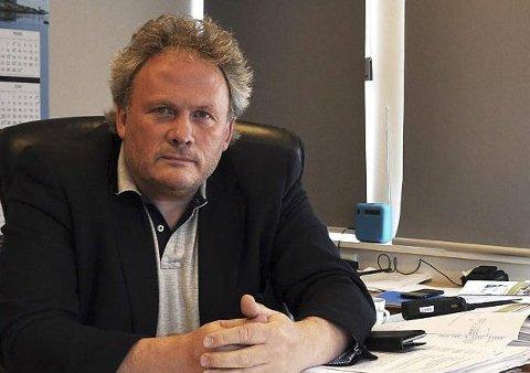 HAR TROEN: Havnefogd i Nordkapp, Leif Gustav Prytz Olsen, ser lyst på fremtiden.