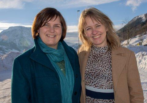 Gunhild Berge Stang, førstekandidat for Vestland Venstre Trude Risnes, førstekandidat for Sogndal Venstre