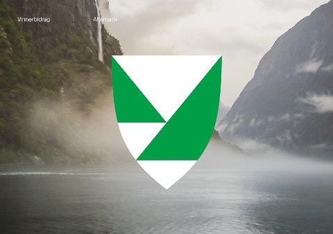 FJORDFYLKE: Sjø, bratte fjell, og nes som stikk ut i fjorden. Dette er eitt av fire aktuelle fylkesvåpenmotiv som politikarane no skal diskutere.