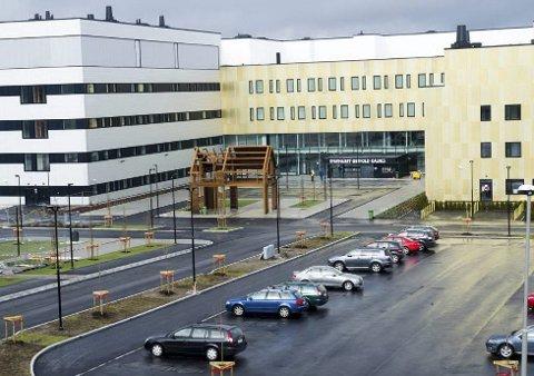 STREIK: Nærmere 1.000 pasienter er nå rammet av streiken ved Sykehuset Østfold. (Foto: Trond Thorvaldsen)