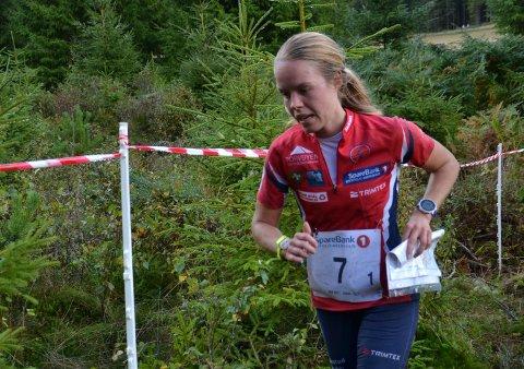 Heidi Østlid Bagstevold har trappet ned, men den rutinerte løpere vekslet helt i teten for FSK i NM-stafetten.