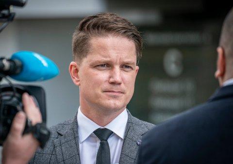 Olle Nohlin representerer Fredrikstad-mannen som tirsdag møtte i Fredrikstad tingrett.
