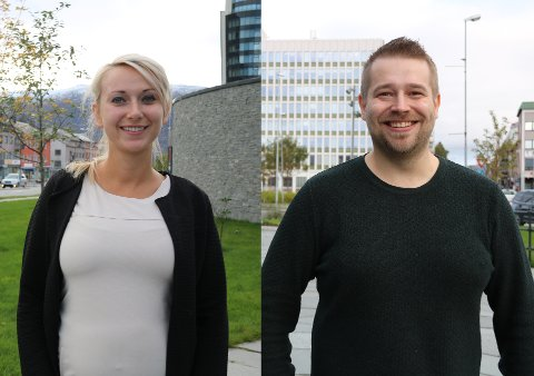 GLADE: Kasia Gancarczyk og Thomas Mikal Berg-Nilsen mener de har fått drømmejobben.