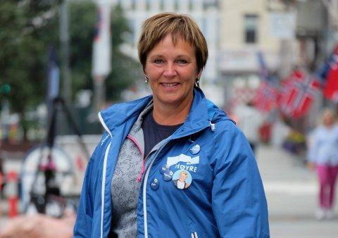 Margunn Ebbesen (H).