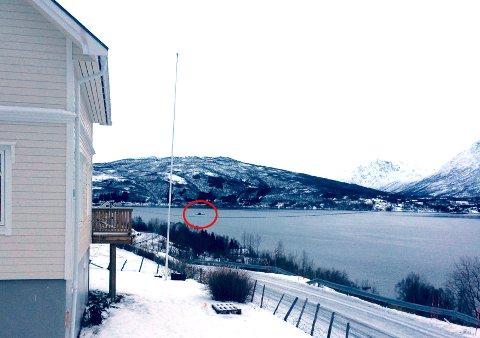 Denne ubåten var i Gratangen torsdag. Forsvaret sier dette er en norsk ubåt.