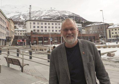 Vil ha løsning: – Vi bør være motivert for å finne en løsning, og det bør veie tungt at næringslivet med Sparebanken Narvik i spissen har stilt betydelig opp for å få til denne satsingen, sier Geir-Ketil Hansen. Foto: Terje Næsje