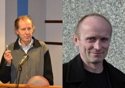 Roy-Idar Sandberg og Kjetil Fjellheim er ordførerkandidater for henholdsvis Gratangen Fellespolitiske Liste og Gratangen Tverrpolitiske Liste.