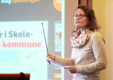 IKKE FORNØYD: Kommunalsjef Heidi Eriksen Laksaa er ikke fornøyd når Narvik er blant de ti kommunene i Norge som bruker mest på innleie av helsepersonell.