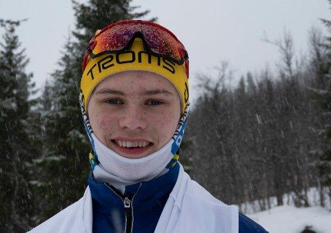 FLYTTER FOR Å SATSE: Isak Simonsen har kommet gjennom nåløyet, og starter på toppidrettsgymnas i høst.