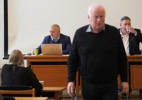 INFORMERT: Torsdag ble det informert om Ballangsleira i formannskapet – blant annet om rådmann Lars Skjønnås' inngripen. Blant de som mener at rådmannen gjorde det rette, var Høyres gruppeleder Paul Rosenmeyer.