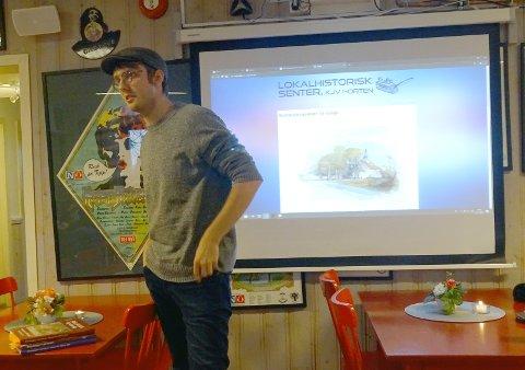 PROSJEKTLEDER: Jon Anders Bjerva bygger og fyller nettsted med Verven-historien.