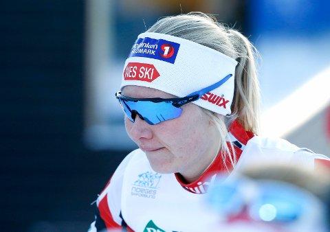 STOR PRESTASJON: Amalie Håkonsen Ous på sprinten i NM