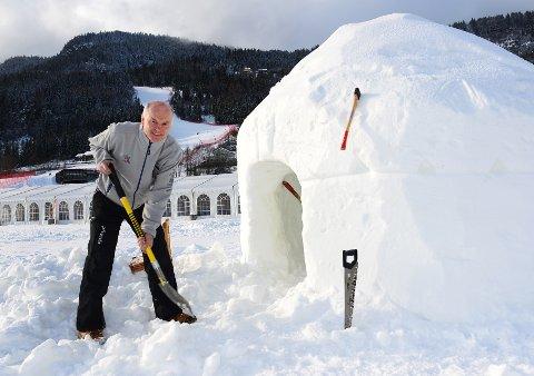 Klar for mesterskap: Daglig leder i Hafjell-Kvitfjell Alpint AS, Svein Mundal er klar for både World Cup til helga og VM i 2025 han. – Gjennomføringskraft, sier han. Det er styrken.Foto:Einar Almehagen