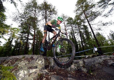 SPRINTSEIER: Erik Hægstad, Lillehammer CK, vant norgescupen i sprint på søndag.