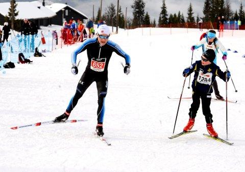 Simen Sveen fra Ring var suveren i Hafjell Skimarathon.