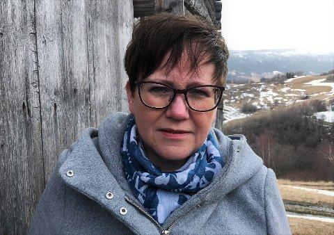 INGEN NORMALE ARBEIDSDAGER PÅ 2,5 ÅR: Live Langøygard var personlig motstander av sammenslåingen av Oppland og Hedmark fylkeskommuner. Tillitskvinnen jobbet likevel døgnet rundt i 2,5 år for å forberede «ekteskapet»