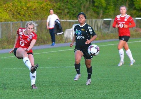 LOKALDERBY: Tonje Hansen og Lunner trenger poeng mot topplaget.