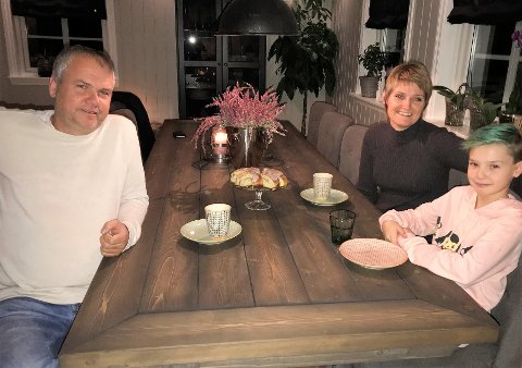 KAKE TIL ALLE: Hos familien Pigstad bakes det kaker som alle kan spise.