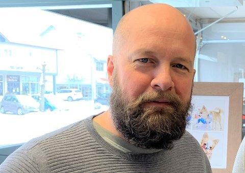 GIKK IKKE PÅ: Kjell Vidar Martinsen gikk ikke på svindelforsøket og betalte ikke kravet han fikk på mail.