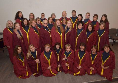 KONSERTKLARE: 4. november så inviterer det lokale koret Army Gospel til Frelsesarmeens lokaler i Halden.