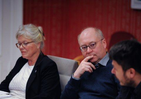 Jens Bakke fra Senterpartiet mener Os-prosjektet blir dyrt, men er fornøyd med at det endelig nærmer seg vedtak. Arkivfoto.