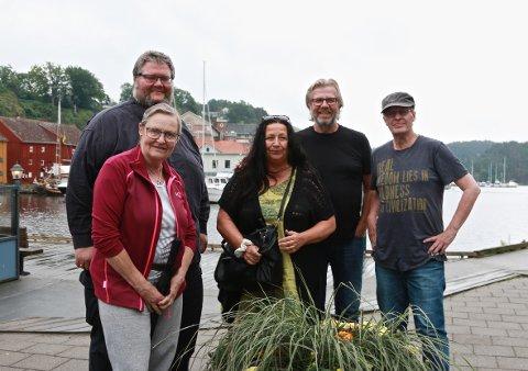 VANDRING I HALDENS KULTURLIV: - Vi ønsker at så mange som mulig åpner dørene for kulturelle begivenheter denne natta i Halden, sier Wenche Erichsen.