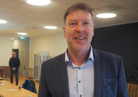 GODT RESULTAT: Banksjef i Skudenes & Aakra Sparebank, Alf Inge Flokketvedt