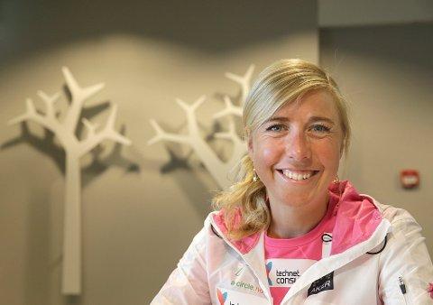 GOD INNTEKT: Kristin Størmer Steira gikk rett fra toppidretten til jobb i Aktiv mot kreft. Nå er hun administrativ sjef i eget firma, med base på Lillehammer.