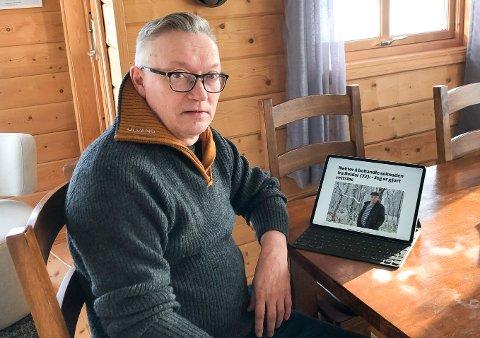LIKHET FOR LOVEN: Jon Erland Balto, gruppeleder for Tana Senterparti, krever at Reidar Varsi og de andre som har søkt om punktfeste, får samme behandling som andre gammeeiere har fått før dem.