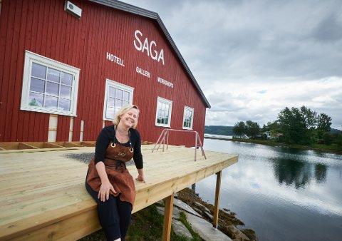 400.000: Elisabeth Nordeng Aanes mottar 400.000 kroner i støtte fra Kulturminnefondet for å utbedre og forsterke fundamentet.