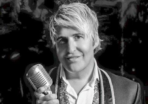 Talent: Lars Hansen har en stemmeprakt av de sjeldne. Torsdag synger han i Aurskog kirke.Foto: Privat