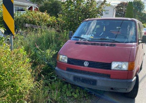 Hensatt: – Plutselig sto bilen der, forteller nabo Glenn Løvberg.