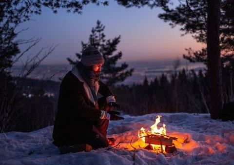 Fra torsdag må bålet slokkes: 15. april starter det generelle bålforbudet for å forhindre skog- og lyngbrann. Foto: Gard Eirik Arneberg