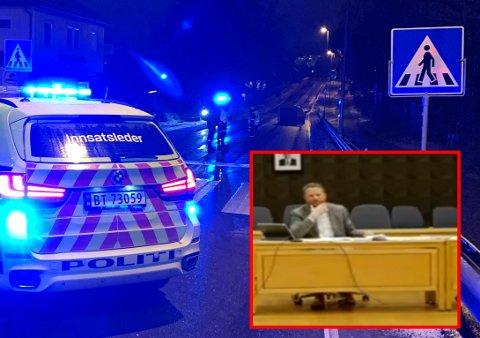 Midt i kommunestyremøtet kjempet ordfører Eyvind Jørgensen Schumacher mot tårene da den dramatiske ulykken ble tema.