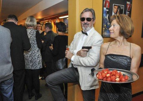 Bondfan: I Kragerø finnes det en stor gruppe James Bond-fans. Foto: Per Eckholdt
