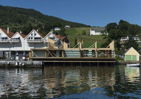 MEIR: Geir Rusten vil byggja meir i strandkanten i Rosendal.