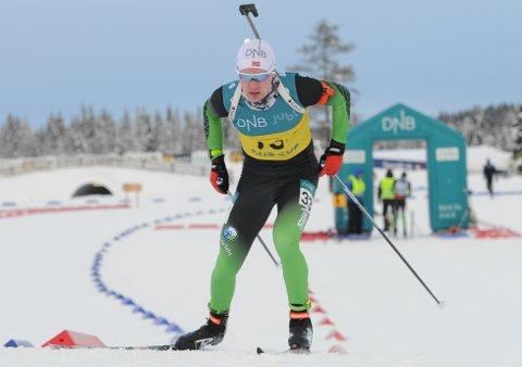 I TOPPEN: Martin Femsteinevik leverte eit nytt sterkt løp då han blei nummer tre i norgescuprennet i Molde. Han var ein hårfin bom unna sigeren.