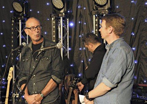 Fornøyde: Arrangør Hans Morten Wærp og kinosjef Even Jensen sier seg fornøyde. Foto: Christian Mauno