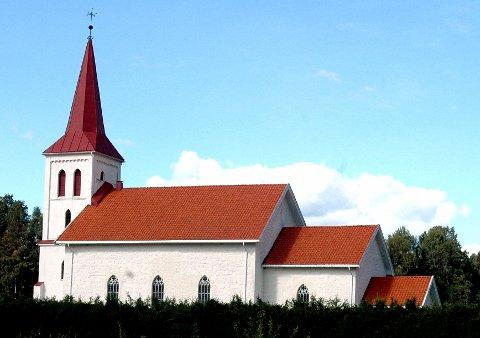 Det er konfirmasjon i Efteløt kirke til søndag.