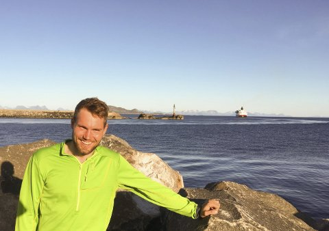 Maraton: Robin skal til sammen sykle 4.500 kilometer for å samle inn penger til kreftsaken.