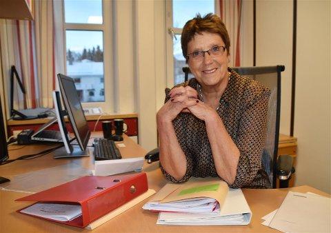 GIR SEG: Mandag har Milly Båtnes Moland sin siste arbeidsdag i Vestvågøy kommune. Heretter skal hun bruke tiden på oppussing av hus og utleie av ferieboliger som er  hennes store hobby