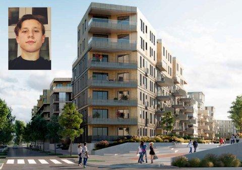 – IKKE UMULIG: Brynjar Lauritsen tjener under 500.000 kroner i året, men kunne likevel kjøpe en leilighet på Lørenskog da han var 19 år. Han mener det ikke er umulig for unge med vanlig lønn å kjøpe bolig i hovedstadsområdet.