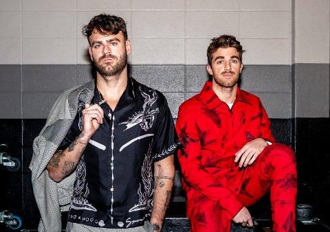 Andrew Taggart og Alex Pall utgjør The Chainsmokers.