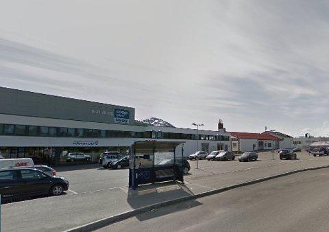 VIL HA NY STASJON: Her planlegges det ny bensinstasjon i Tromsø.
