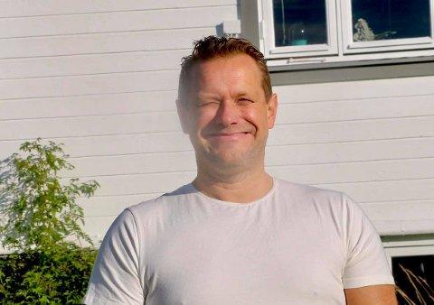 Roy-Arne Johannessen har alltid likt å få andre til å le. Foto: Marius Medby