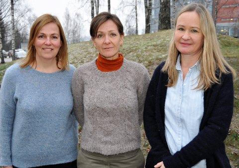 VIL PEKE PÅ UTFORDRINGENE: – Vi føler oss veldig misforstått, sier Ingunn Sandvik (f.v.), Siri Fuglem Berg og Randi Haugen i Gjøvikregionen Helse- og miljøtilsyn.