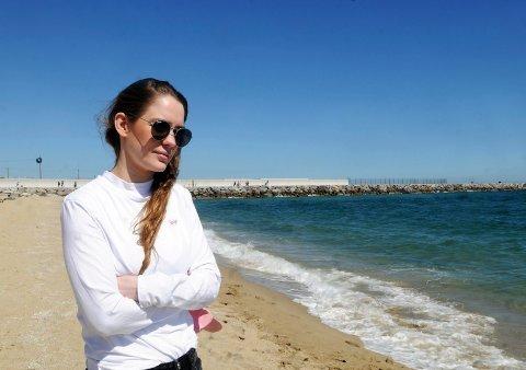 RAKETTKARRIERE: Anna Lotterud fra Gjøvik ar hatt en rakettkarriere og reiser verden rundt med sin musikk.