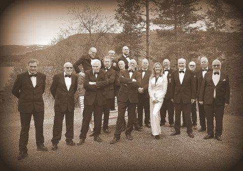 KLARE: Gutta i Bergegarda Mannskor er alltid beredt til å glede publikum, neste mulighet er 11. januar.